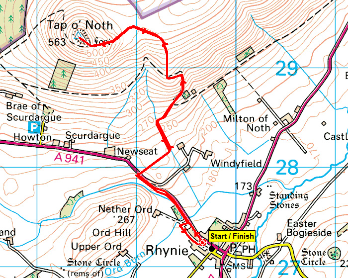 Tap O noth Map